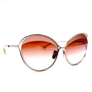 NEW DITA SASU DTS516 02 ROSE GOLD PINK SUNGLASSES
